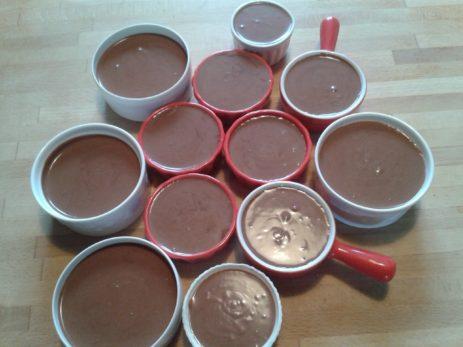 crème aux chocolats