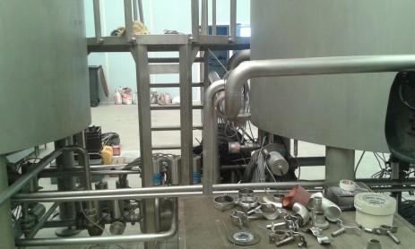 Installation brasserie